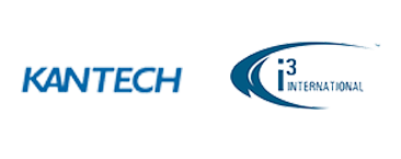 Kantech logo et i3International logo